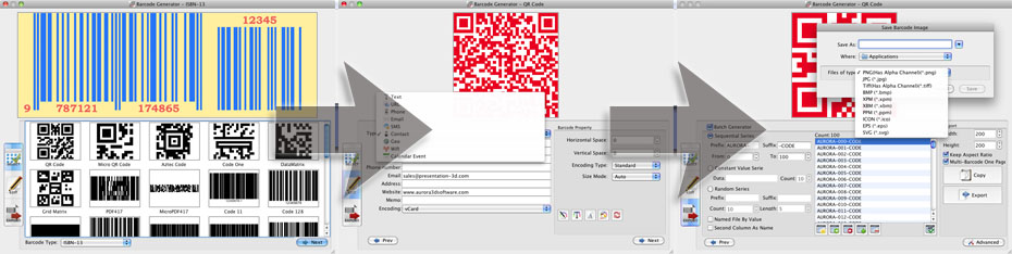 Barcode Generator full screenshot