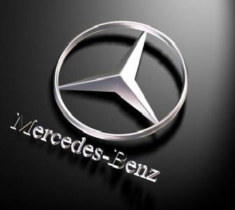 3d effect in the logo design and 3d design software for Mercedes benz logo 3d