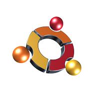3D Logo Design Ubantu